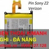 Thay pin Sony xperia Z2